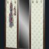 Вешалка с 6 крючками и зеркалом Б5.10-6 1