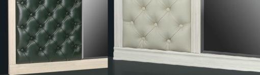 Шкаф для одежды с зеркалом и бра Б5.13 карамель 4