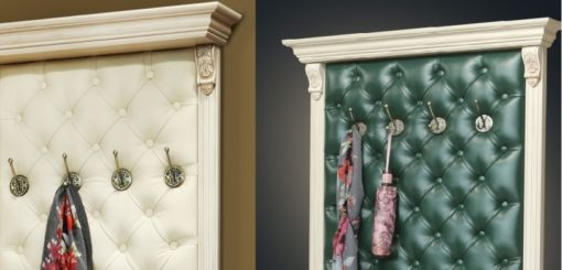 Шкаф для одежды с зеркалом и бра Б5.13 карамель 5
