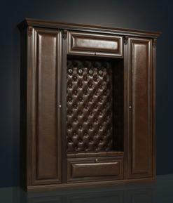 """Прихожая """"Благо-5"""" (с двумя шкафами) Б5.1-2 карамель 2"""