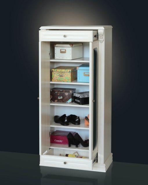 Обувница стойка Б5.16-4 карамель 2