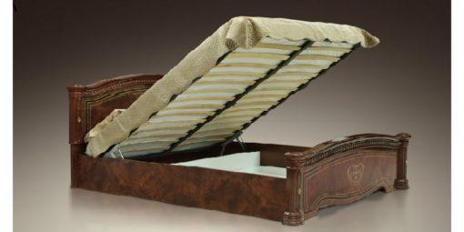 Кровать Карина-3 с подъемным механизмом (беж) 1 спинка 2