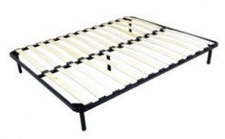 Кровать Карина-3 (1 спинка) беж с мягкой спинкой 2