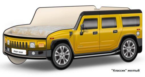 Кровать-машина Джип Хаммер 4