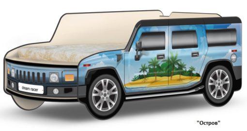 Кровать-машина Джип Хаммер 6