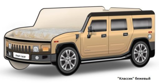 Кровать-машина Джип Хаммер 8