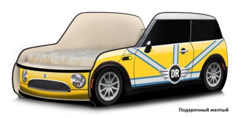 Кровать-машина Мини 5