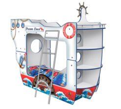 Кровать - Корабль Двухпалубный «ДримЛайнер» 1