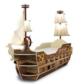 Кровать-корабль «Корсар» 2