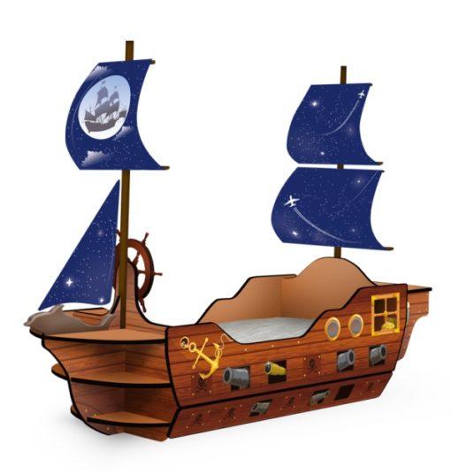 Кровать-корабль «Мечта Пирата» 1