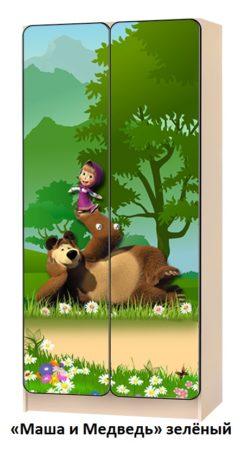 Шкаф детский с мультяшками 2
