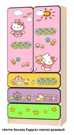Шкаф детский для девочек 2