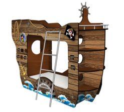 Кровать-Корабль Чёрная Жемчужина 1