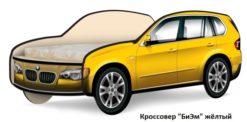 Кровать-машина Кроссовер 2