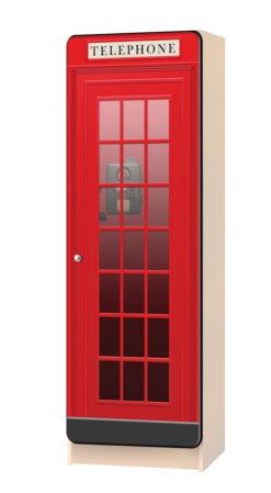 Пенал Телефонная будка 1