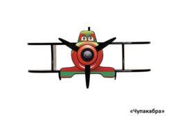 Полка Самолетик Биплан 2