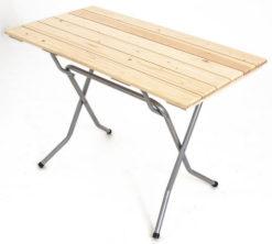 Складной стол реечный Прямоугольный-126 (18 РС ПНР) 1