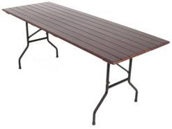 Складной стол реечный Прямоугольный-207 (25 РС ПНД) 1
