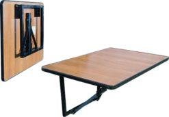 Стол складной настенный навесной-75 (15 РС ПНН) 1