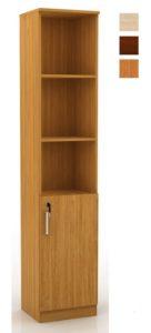 Шкаф книжный Д-127 1