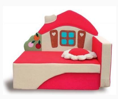 Детский диван Домик 1