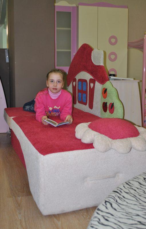 Детский диван Домик 4