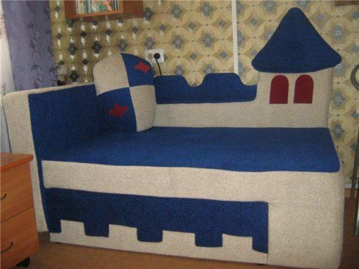 Детский диван Замок 4