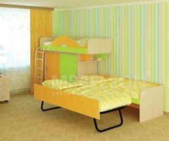 Детская кровать Сити 4.3 2