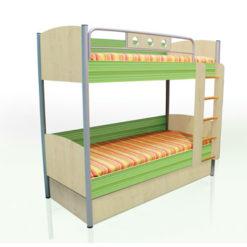 Двухъярусная кровать Полосатый рейс 1
