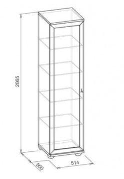 Шкаф для белья-1 Марракеш 2