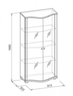 Шкаф для посуды-2 Марракеш 2