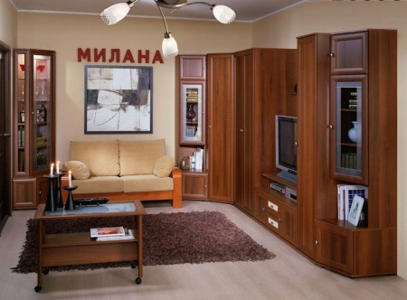 Модульная гостиная Милана-2 1