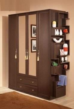 Шкаф для одежды и белья-1 Милана 1