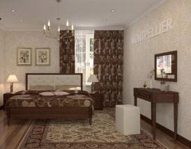Кровать Montpellier с основанием 140/160/180 2