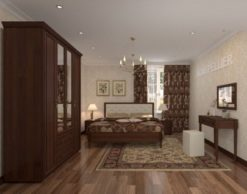 """Модульная спальня """"Montpellier-1"""" 1"""