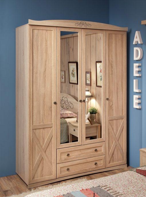 Шкаф для одежды и белья Adele-9 1