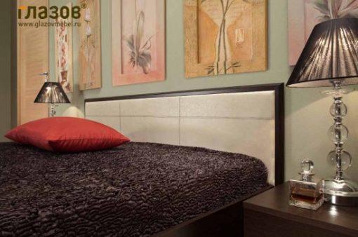 Кровать Амели с метал.основанием 140/160/180 8