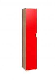 Шкаф для белья-5 Автобус красный 1