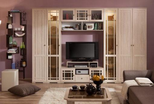 Модульная мебель для гостиной Sherlock дуб 1
