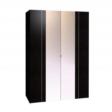 Шкаф для одежды и белья-34 Berlin венге 1