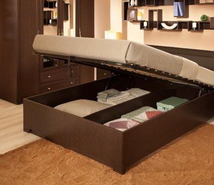 Кровать с подъемным механизмом Анкона 1