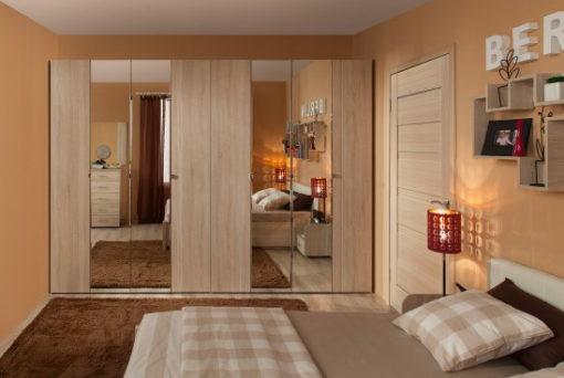 Модульная спальня Berlin дуб сонома 2