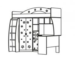 Детский комплекс Денди Звездочка 2
