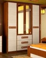 Шкаф 4-х створчатый Комфорт-1 2