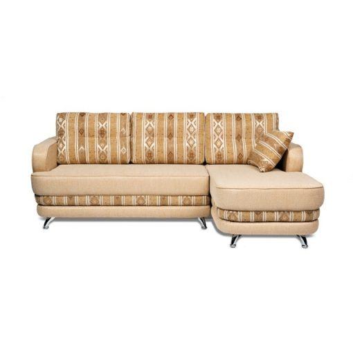 Угловой диван Рокки-2 (прямой) с подушками 1