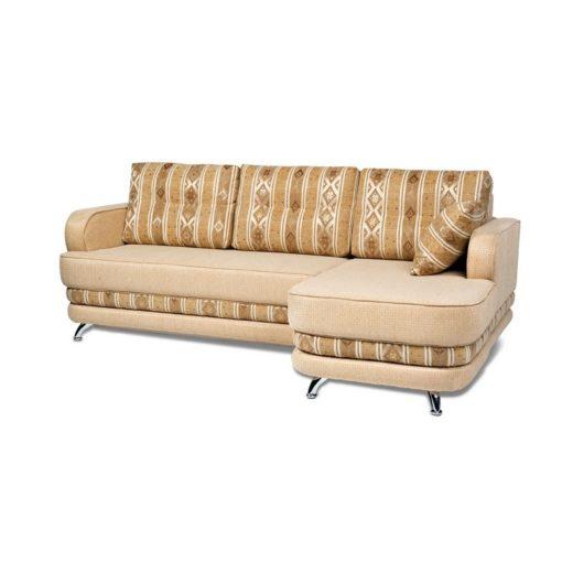 Угловой диван Рокки-2 (прямой) с подушками 2