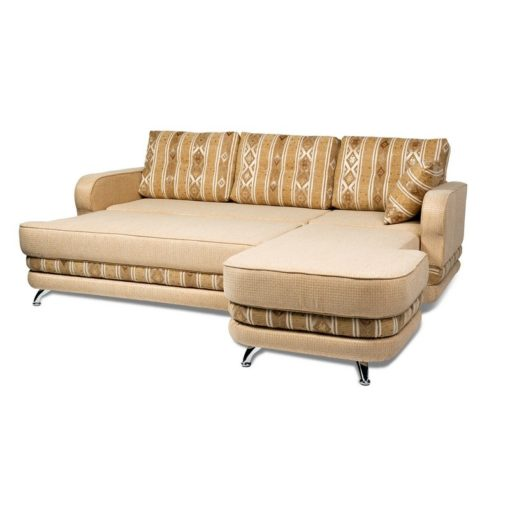 Угловой диван Рокки-2 (прямой) с подушками 3