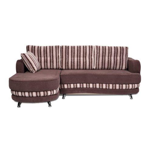Угловой диван Рокки-2 (волна) с подушками 1