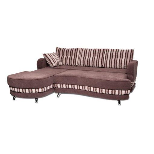 Угловой диван Рокки-2 (волна) с подушками 2