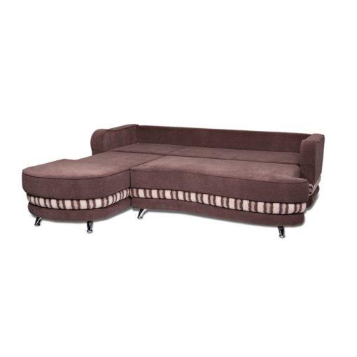 Угловой диван Рокки-2 (волна) с подушками 3